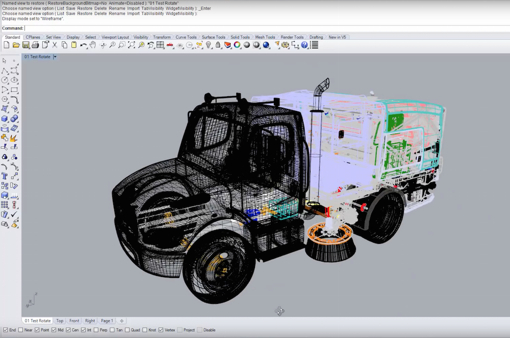 Rhino3d v6 for Windows - Modelling Enhancements | Display Pipeline Improvements