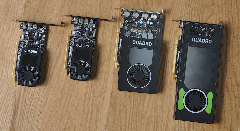 NVIDIA Quadro Card Range Tested